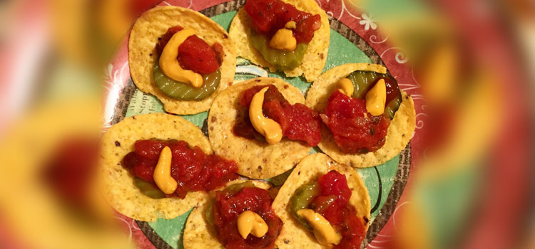 Atta Pickle Nacho  Recipe